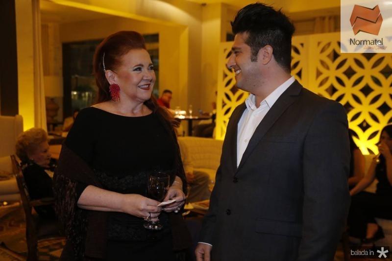 Claudia Reboucas e Pedro Gurjao