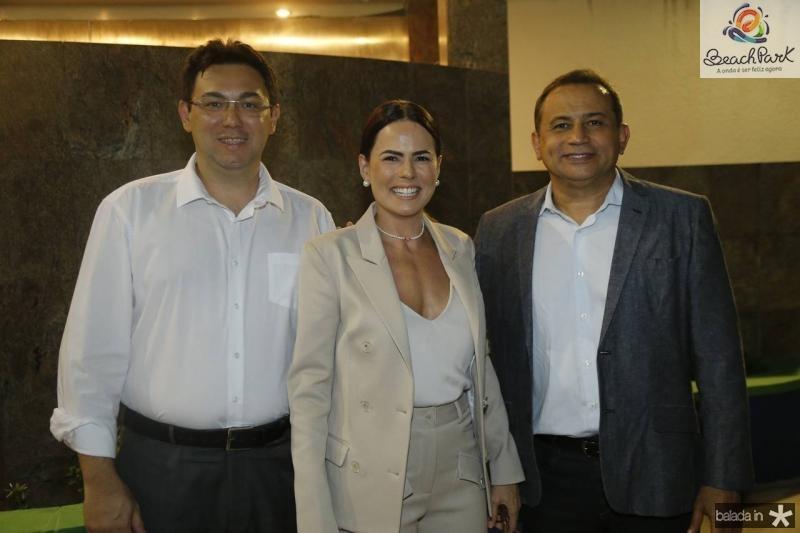 Ricardo Alexandre, Luciana Souza e Cesar Belmino