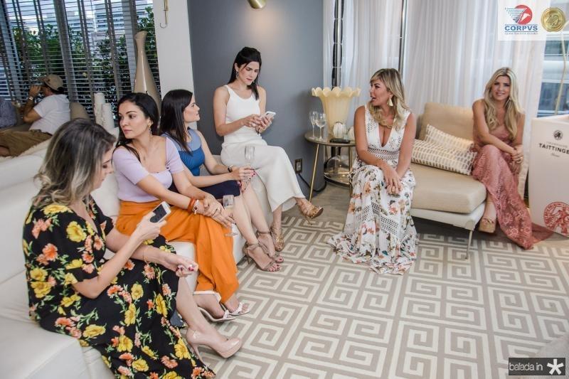 Leyliane Pinheiro, Ilka Franck, Camile Quintao, Marilia Quintao Vasconcelos, Patricia Dias e Iris Stefanelli