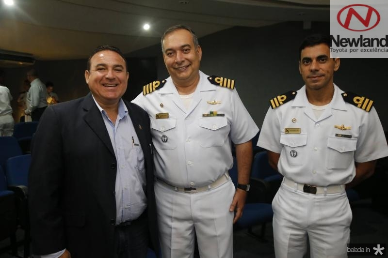 Arnaldo Silva, Madson Cardoso e Alexandre Silva