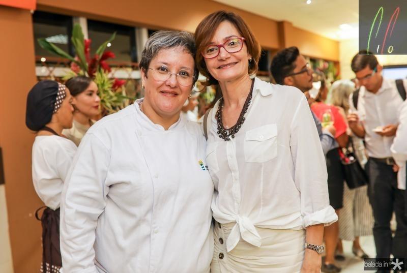 Ana Paula Resende e Louise Benevides