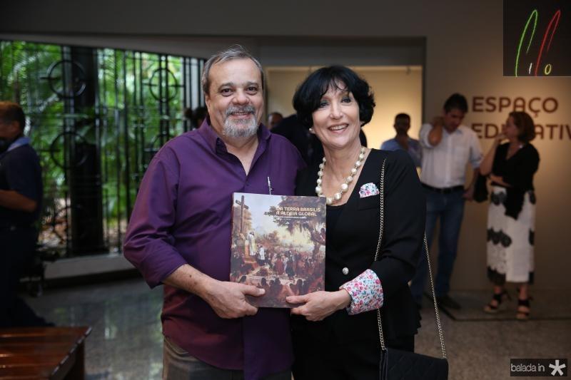 Eduardo Freire e Denise Mattar