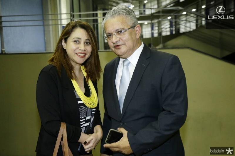 Raquel Barros e Luiz Sergio