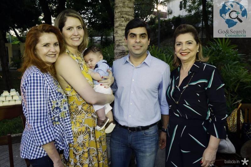 Teresa Cristina, Camila e Queiroz Neto, Queiroz Filho e Socorro Sa