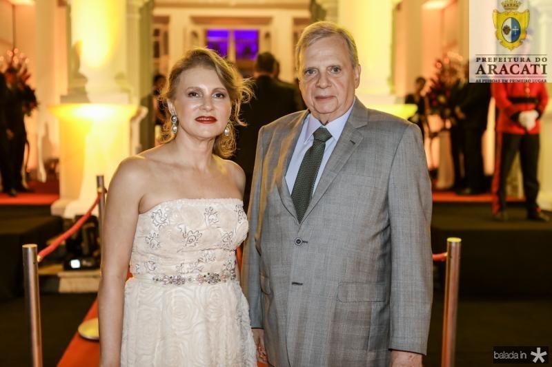 Renata e Tasso Jereisati