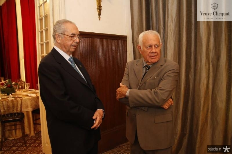 Paulo Picanco e Flavio Saboia