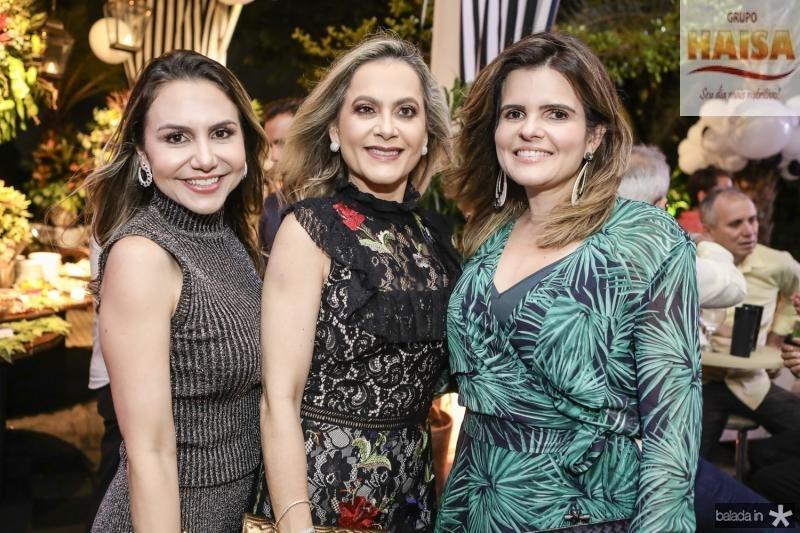 Adriana Queiroz, Cristiane Ari e Cristine Feitosa