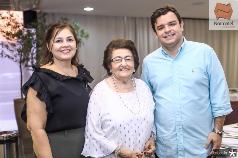 Rosangela e Holandina Cavalcante, Augusto Pinho