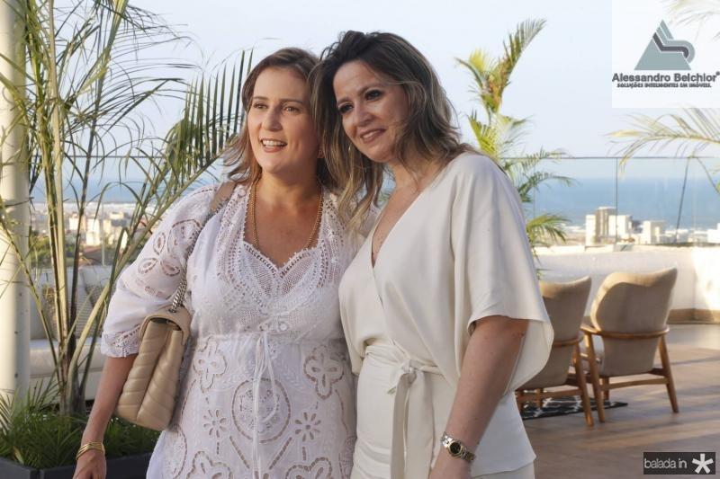 Helena Dias e Margareth Bombonatti e