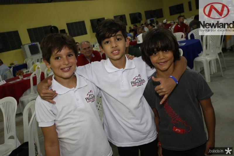 Henry Bastos, Rafael Neto e Igor Leal