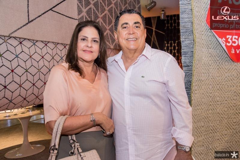 Celina Fiuza e Adroaldo Carneiro