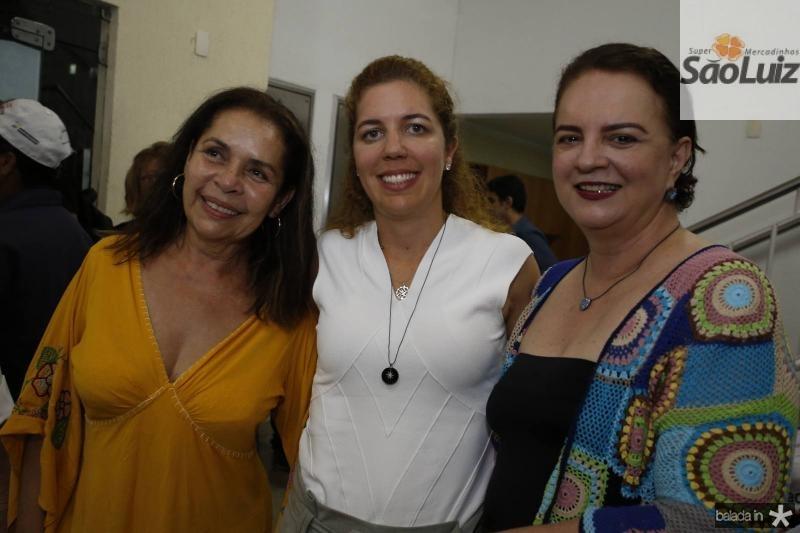 Dora Andrade, Ticiana Queiroz e Ethel White Hust