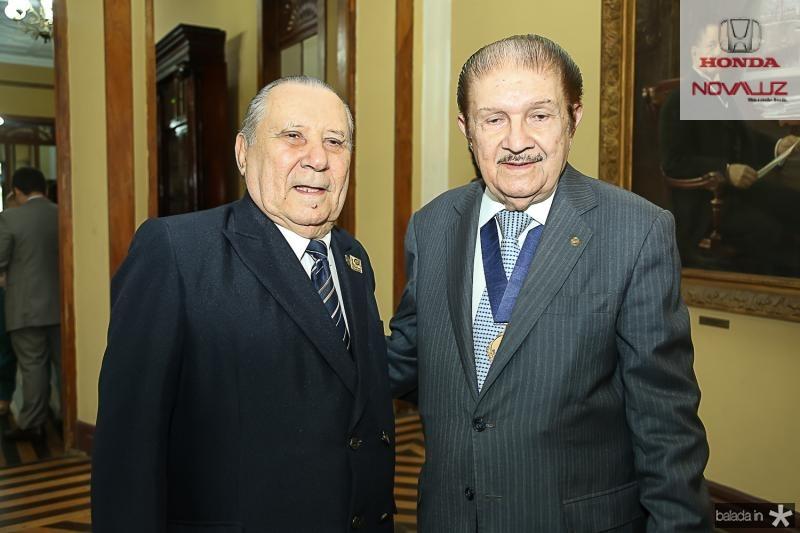 Idalmir Feitosa e Mauro Benevides