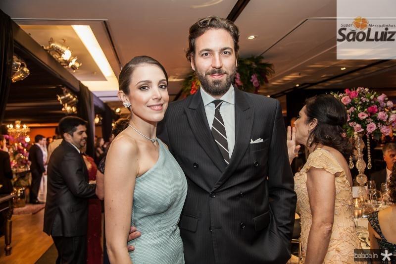 Joana Laprovitera e Marcelo de Moraes