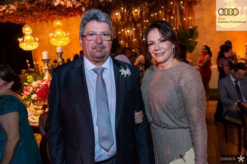 Paulo Sergio e Fatima Vasconcelos