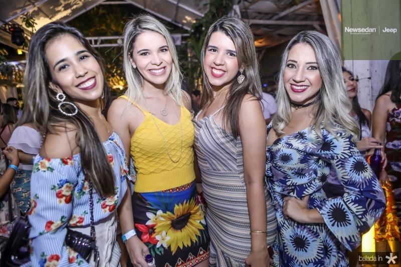 Larissa Rocha, Carol Sampaio, Lidia Lima e Carol Sales