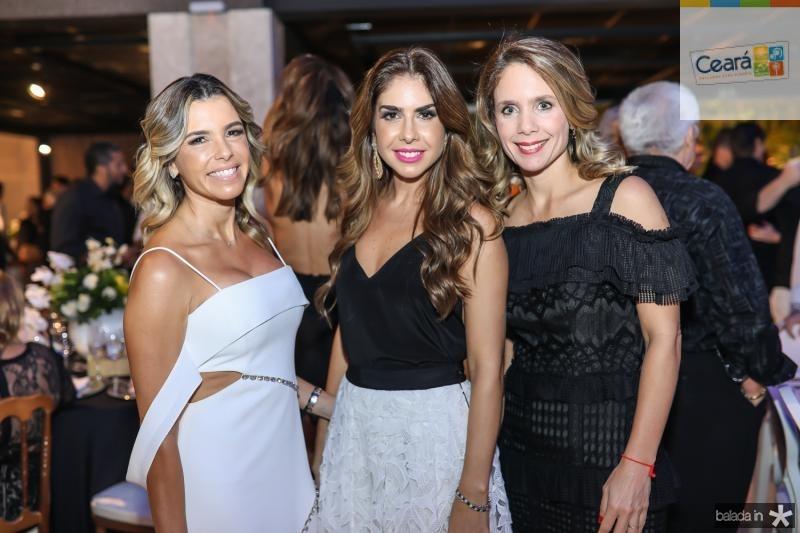 Liliana Diniz, Rafaela Otoch e Lina Pinheiro