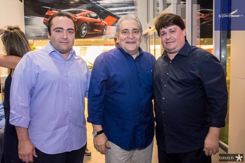 Ozires Pontes, Luis Pontes e George Lima