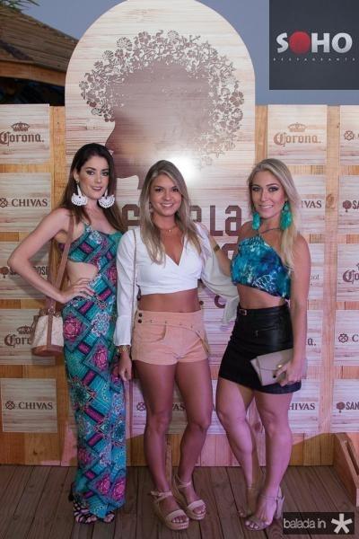 Ingrid Garcia, Jessica Campos e Rafaela Bandeira