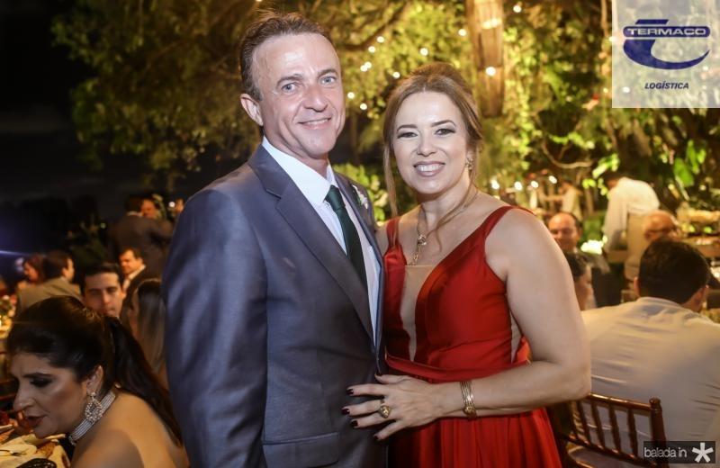 Washington Araruna e Ines Cavalcante