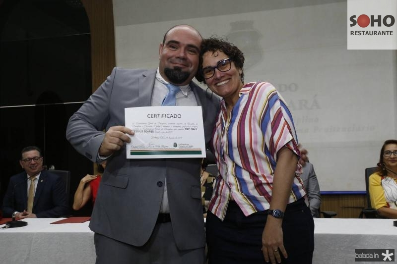 Raul Soares e Adriana Camara
