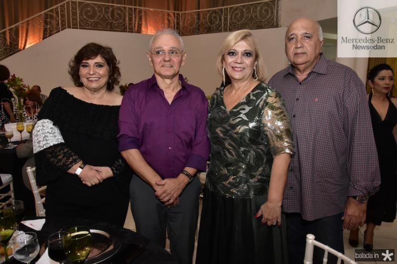Socorro e Marcos Trindade e Priscila e Epitacio Cavalcanti
