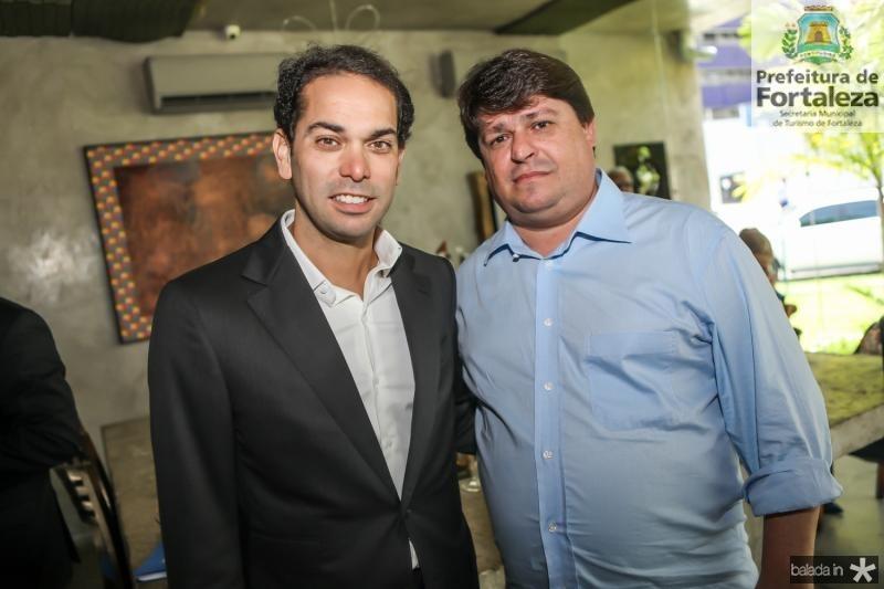 Claudio Vale e Gorge Lima