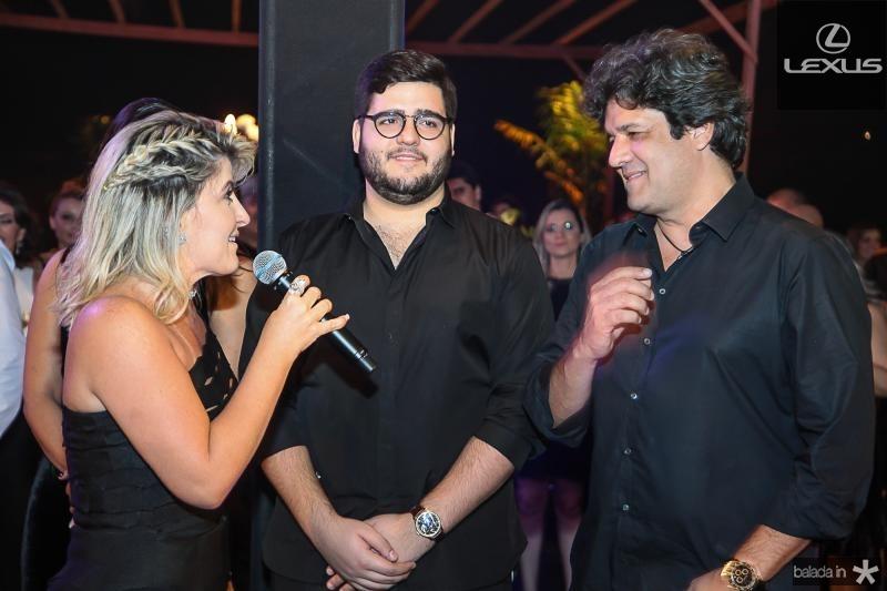 Leia, Pedro e Pedro Freitas