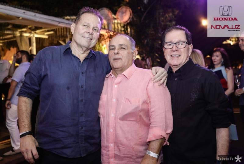 Julio Ventura, Maximo Fiuza e Joao Borges