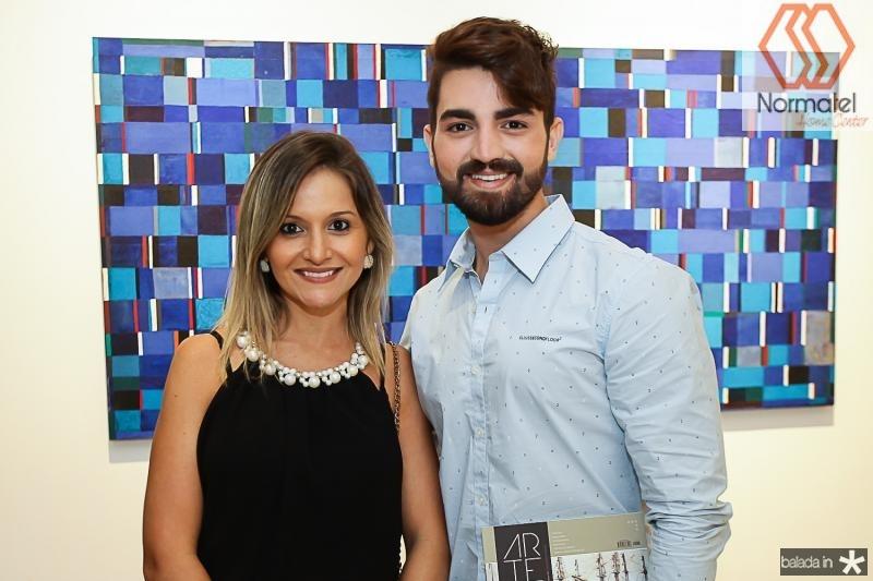 Clarianny Aguiar e Jose Fontenele