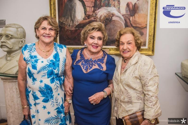 Tereza Camara, Consuelo Dias Branco e Cibele Pontes