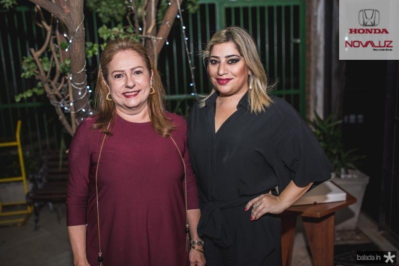 Cristina Aragão e Manu Romcy