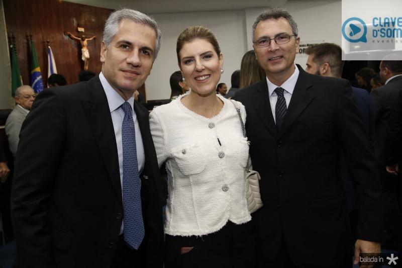 Adolfo Bichucher, Carla e Carlos Pereira
