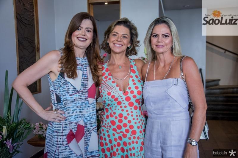 Luciana Fialho, Ana Cristina Wolf e Layla Fujita