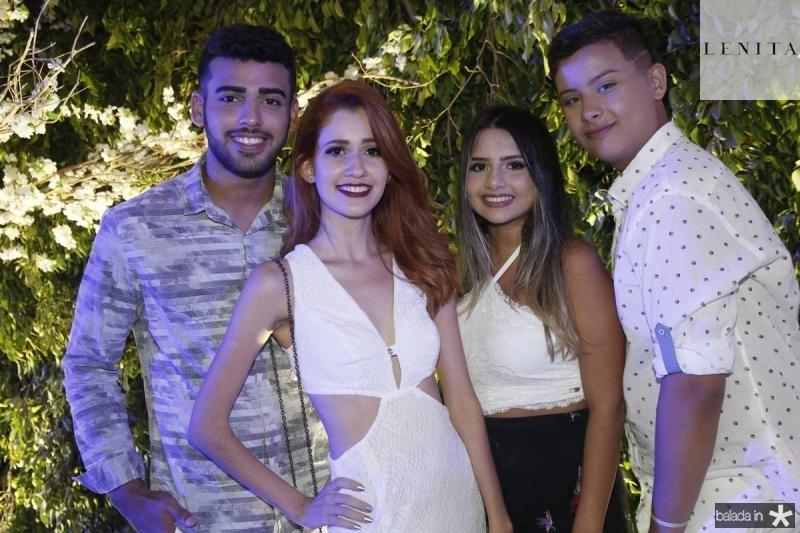 Guilherme Ferreira, Raphaella Salema, Mirela Rabelo e Joel Pereira