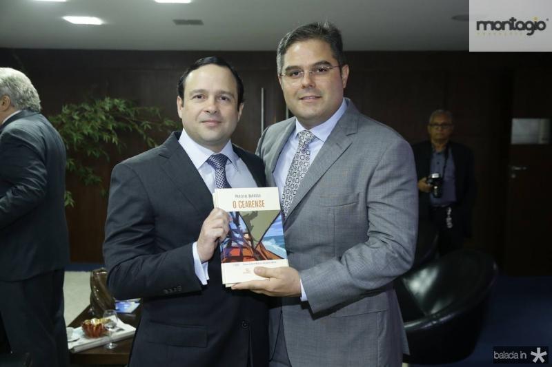 Igor Queiroz Barroso e Edson Queiroz Neto