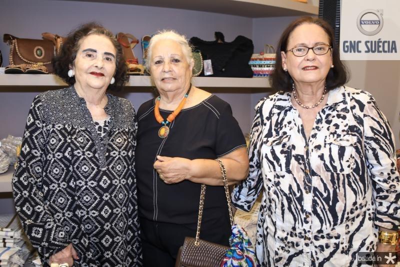 Glaucia Mota, Marcilia Tavares e Terry Kay
