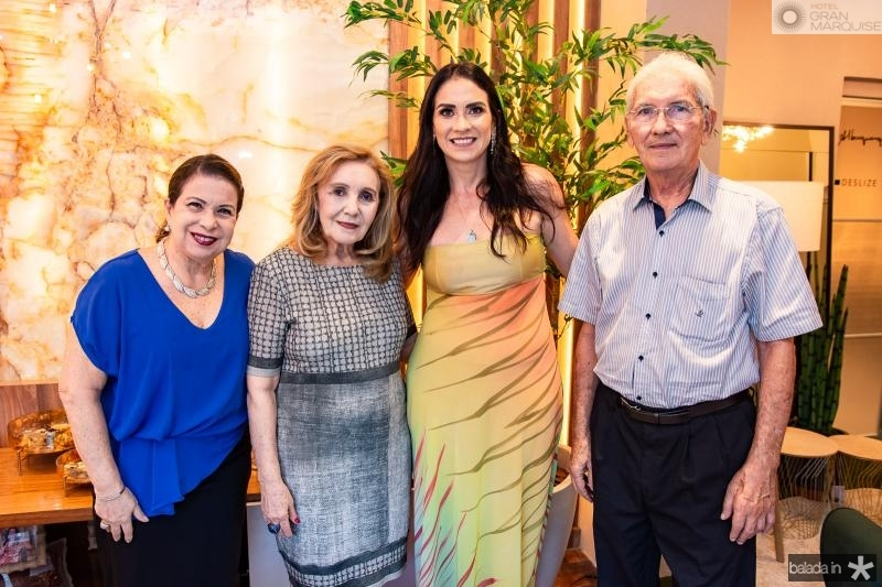 Lucia Carioca, Mearylene Barbosa, Luciana Carioca e Osvaldo Carioca