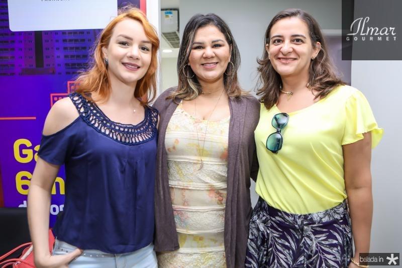 Isabel Oliveira, Patricia Mota e Luciana Torres
