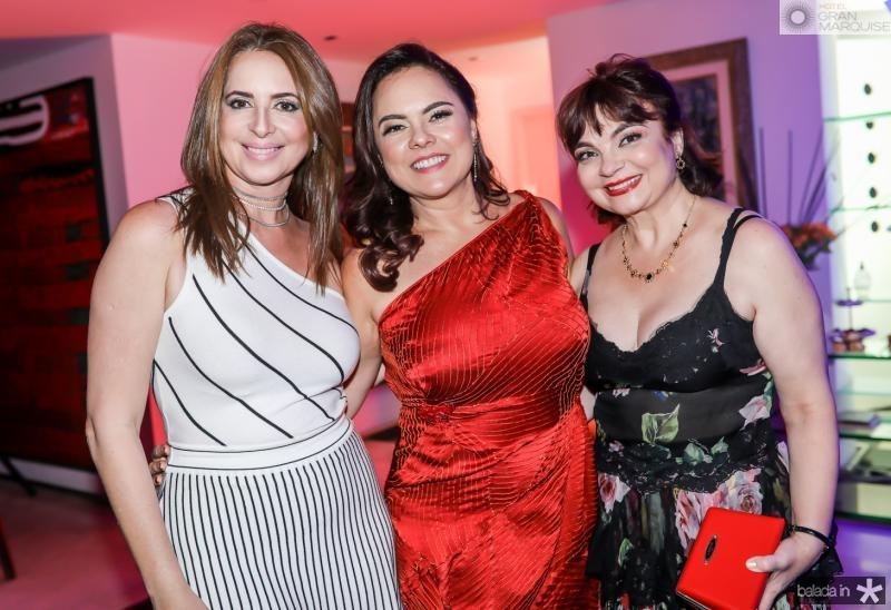 Marcia Andrea, Denise Cavalcante e Cris Leite