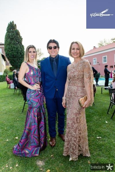 Marcela Oliveira, Dito Machado e Tereza Tavora