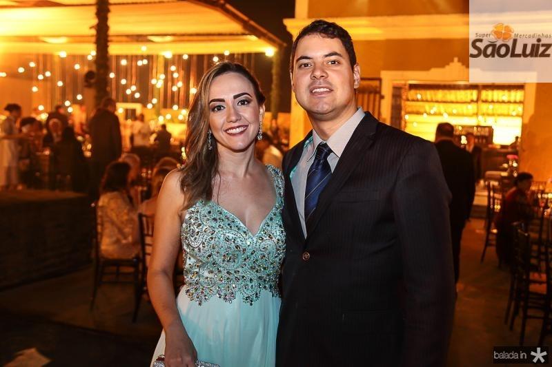 Natalia Nogueira e Geraldo Marques