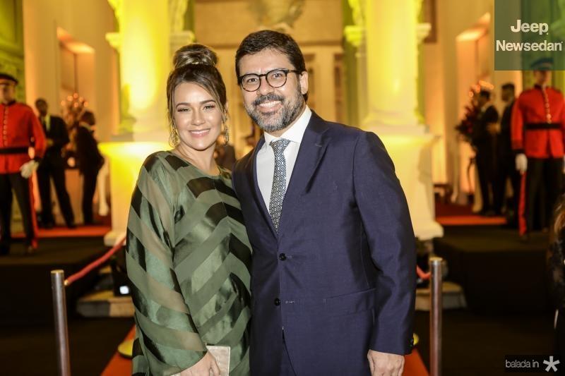 Jeritza Gurgel e Rodolfo Licurgo