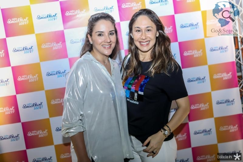 Natlia Marques e Larissa Coelho