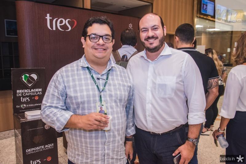 Renato Queiroz e Rodolfo Xavier
