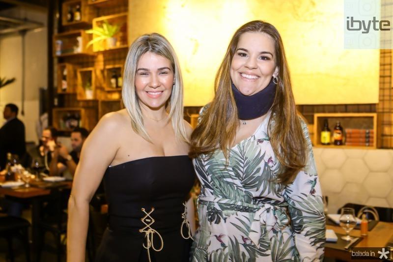 Jerizta Guergel e Ana Paula Domene
