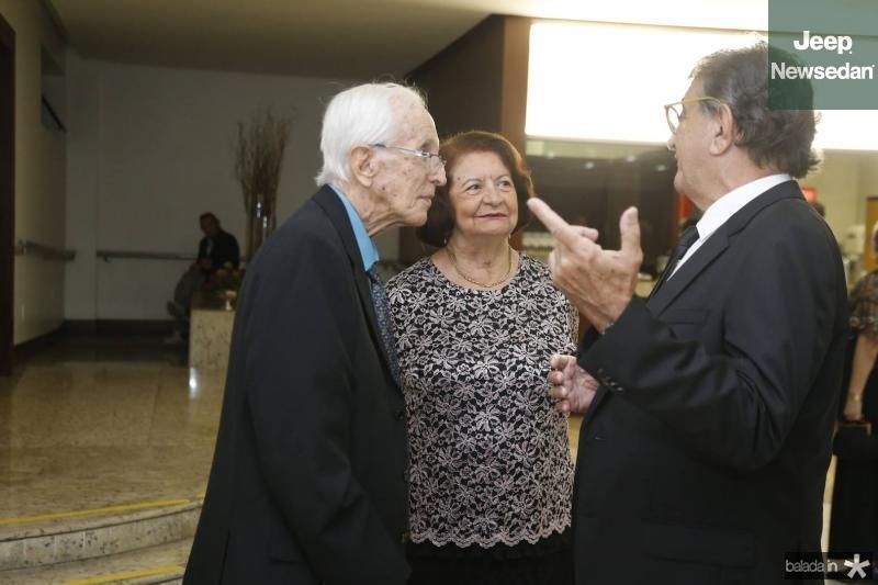 Isnelio Fiuza, Edgone Bezerra e Arialdo Pinho