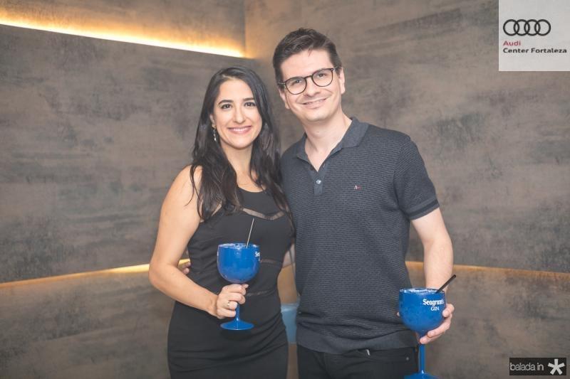 Gabriela Benicio e Rafael Saldanha