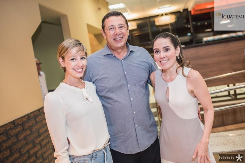 Laura Sleiman, Alexandre Sleiman e Agueda Muniz
