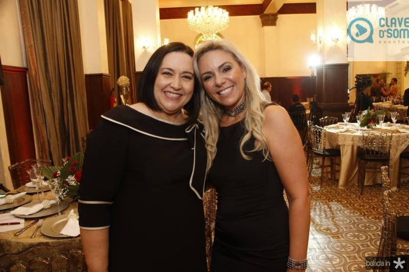 Norma Zelia e Erika Queiroz